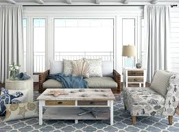 coastal style living room furniture. Beach Style Living Room Furniture With Coastal Pillows And Decor E