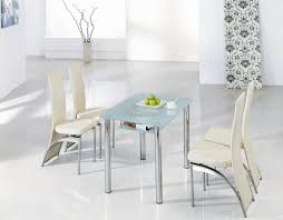 small glass kitchen table 2 chairs small dining tables beautiful curved chairs patterened window curtains 1024x798