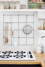 hang anything with a loop on a diy wire rack