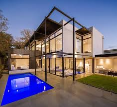 Contemporary Style Home by Domoney Architecture