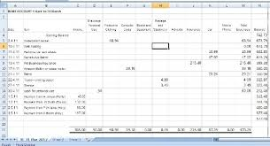 small business spreadsheet template small accounting business spreadsheet for income and expenses free