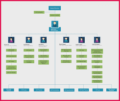 Organizational Chart Template Sop Examples