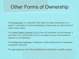 forms of ownership forms of business ownership ppt video online download