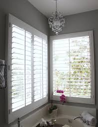 gray bathroom walls white plantation shutters white tiled bath surround pink orchid gray paint colors for the home gray paint colors