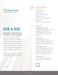 Marketing Brochures | Paytrace - Gateway To Happy
