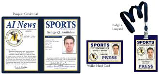 Sports Ains Certification From Press