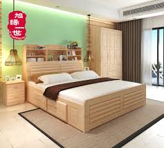 natural color furniture. Natural Color Home Furniture Pine Wood Latest Double Bed Designs With Box - Buy Box,Wood Bed,Wood R