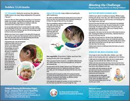 baby pamphlets supporting success for children with hearing loss hearing aids on