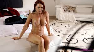 Janet Mason shows her stepson and his horny girlfriend Tiff Bann.