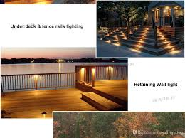 Terrace lighting Small Terrace Ac Dc 12v Led Deck Step Retaining Wall Light Waterproof Outdoor Garden Hardscape Landscape Stairs Laminate Flooring Terrace Lighting Dhgate 2019 Ac Dc 12v Led Deck Step Retaining Wall Light Waterproof Outdoor