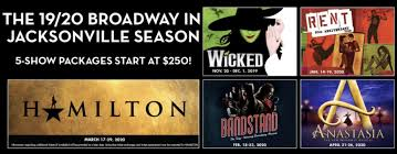 Fscj Artist Series Broadway In Jacksonville Announces The 19