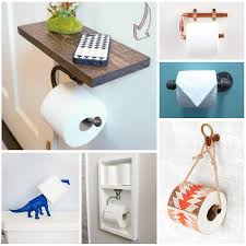 Toilet paper holder ideas Wood Diy Toilet Paper Holders For Your Home Andreas Notebook Diy Toilet Paper Holders To Make For Your Home