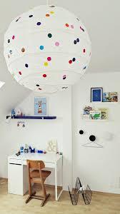ikea kids lighting. Add Polka Dots To An IKEA Regolit Paper Lampshade Ikea Kids Lighting L