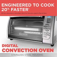 Amazon.com: BLACK+DECKER Countertop Convection Toaster Oven ...