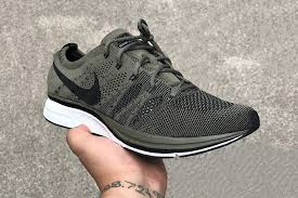 nike flyknit trainer. nike flyknit trainer purple olive first look n