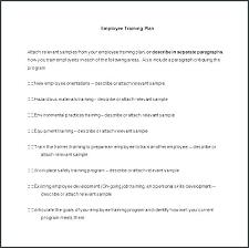 Plan Template Employee Training Unusual Excel Schedule Staff New
