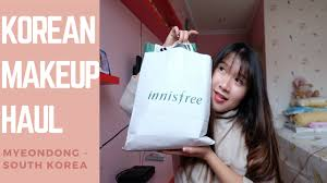 korean makeup haul innisfree 3ce peripera more bahasa indonesia