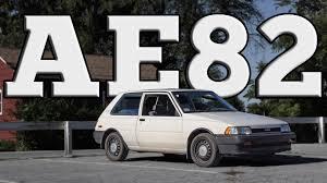 1987 Toyota AE82 Corolla FX Hatch: Regular Car Reviews - YouTube