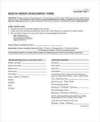 community needs assessment template ppt facilitated by 28 needs assessment forms in pdf