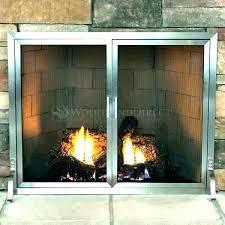 contemporary glass fireplace screen contemporary glass fireplace screen do s havenly design style quiz