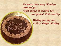 Birthday Quotes For Mother From Sons – From Mother To Son On His ... via Relatably.com