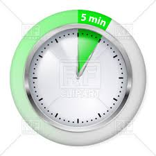 5 Minute Powerpoint Timer Timer Icon
