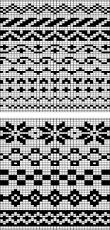 Fair Isle Knitting Charts Easy Fair Isle Charts Could Adapt To Crocheting Fair
