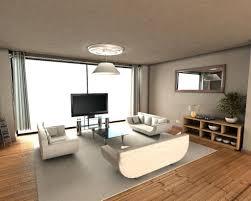 living room minimalist room budget white simple sofa furniture metal chandelier lighting round glass pendant