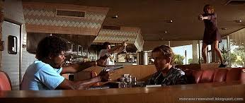 280 x 235 animatedgif 4233 кб. Brandon Wenerd On Twitter Fun Fact The Cardi B Pepsi Ad Was Filmed In The Same Diner As This Legendary Scene From Pulp Fiction Pann S Great French Toast Spot Https T Co Wrpgdlu77p