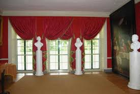 Valance Curtains For Living Room Flip Pole Swag Valance Curtains Traditional Living Room Regarding
