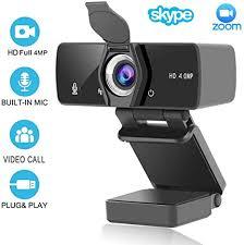 <b>HD</b> Webcam <b>2K</b>/4MP/1440P (With Privacy Shutter), USB Plug And ...