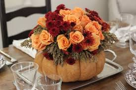 Flowers as Beautiful Thanksgiving Centerpieces