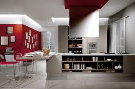Wall For Kitchens Contemporary Kitchen Best Minimalist Kitchens With Perfect