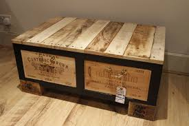 Diy Wooden Box Designs Diy Wine Box Plans Diy Ideas Wooden Crate Coffee Table