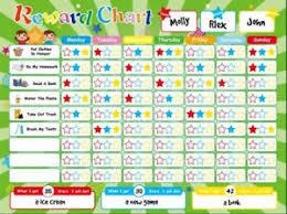 Toddler Behavior Reward Chart Details About Magnetic Reward Chart Chores Good Behavior Children Toddler Play Home School