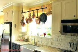 kitchen pots and pans hanging rack in unbelievable ways to organize design