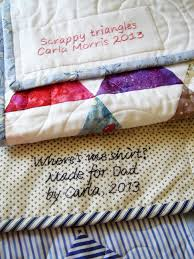 Quilt label tutorial | Granny Mauds Girl & quilt label tutorial Adamdwight.com