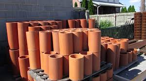 clay chimney flue liner. Exellent Liner 6 X 12 Clay Flue Throughout Chimney Liner Y