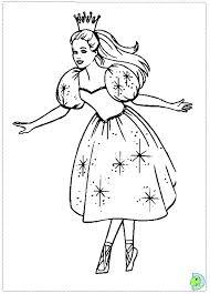 Small Picture barbie Nutcracker Coloring page DinoKidsorg