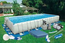 intex rectangular above ground pools. Wonderful Pools 12u0027 X 24u0027 52 And Intex Rectangular Above Ground Pools 7