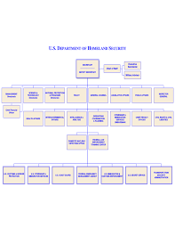 Dhs Org Chart Department Of Homeland Security Organizational Chart Free