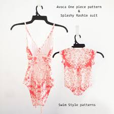 One Piece Swimsuit Pattern Interesting Inspiration