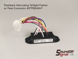 soundoff signal flashback tailight flasher etfbssn p
