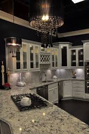 gorgeous black kitchen chandelier wonderful black crystal chandelier decorating ideas for kitchen