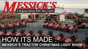 Messicks Light Show Messick Farm Equipment Kicks Off Christmas Light Show
