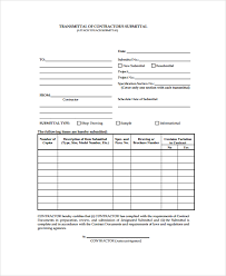 Construction Submittal Form Template Jasi Info