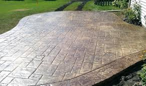 beautiful cost for concrete patio and how much does a stamped cement patio cost 46 cost