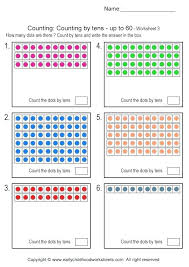 Counting By Tens Worksheet Free Printable Math Worksheets Counting ...