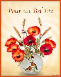 Bouquet De Coquelicots Pour F Ter L Et En Musique Chez Mireille D