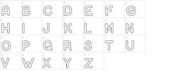 Bubble Letters Font Bubble Letters Font Urbanfonts Com